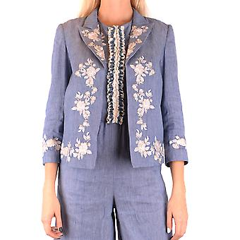 Twin-set Blue Linen Blazer
