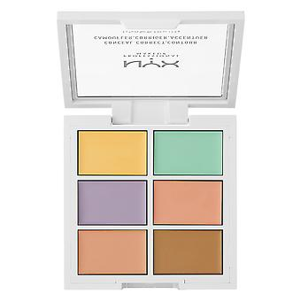 NYX PROF. MAKEUP 3C Palette Color Correcting Concealer