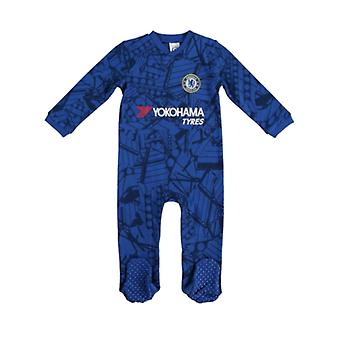 Chelsea Baby Kit Sleepsuit - 2019/20 Season