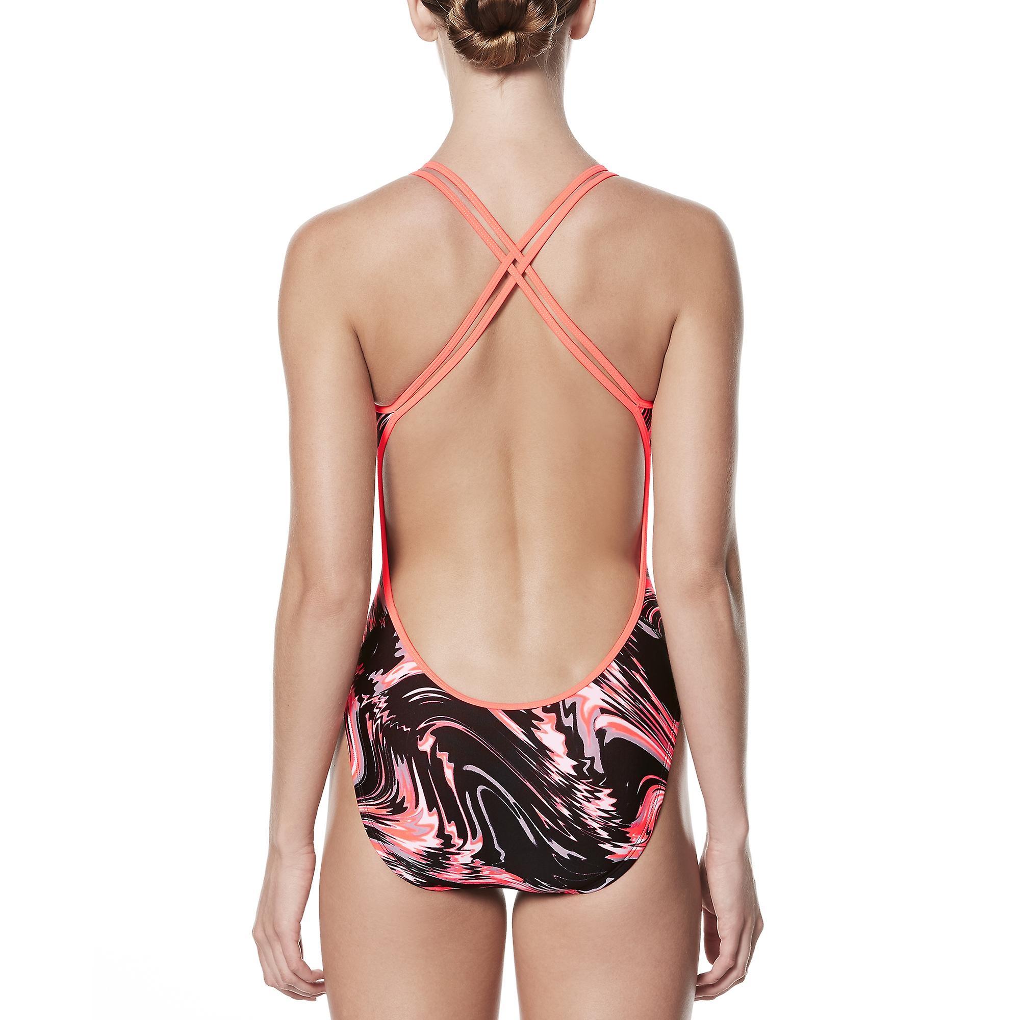 Nike Amp Surge Spiderback One Piece Swimwear For Girls