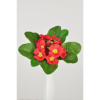 Artificial Silk Primula Bush