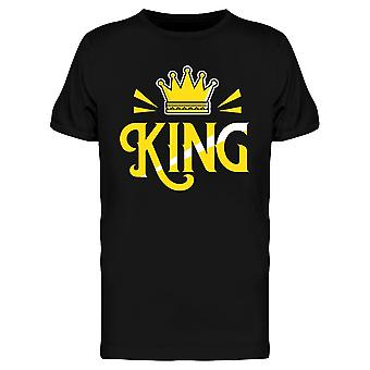 King With Crown   Tee Men's -Image by Shutterstock