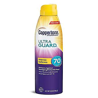 Coppertone ultra guard sunscreen continuous spray, spf 70, 5.5 oz