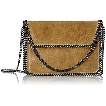 Chicca Bags 10009 Women's Leather Day Pochette 24 cm