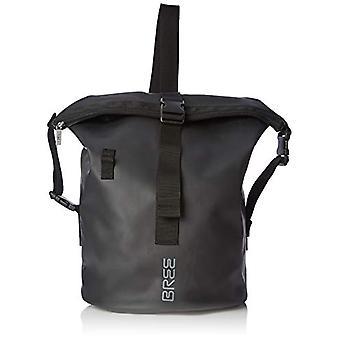 BREE Collection Punch 724 Black Cross Kit Bag - Unisex Adult Black (Black) 30x50x30 cm (B x H T)