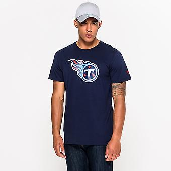 Ny æra Nfl Tennessee Titans Team Logo T-shirt