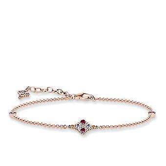 Thomas Sabo Silver Silver Chain Bracelet Sterling 925 925 - A1667-321-7-L19v