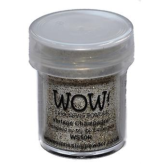 Wow! Embossing Powder 15Ml Vintage Champagne Wow Ws50r