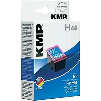 KMP Ink replaced HP 901 Compatible Cyan, Magenta,