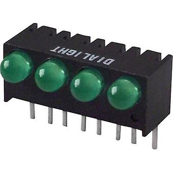 LED lineær array Green (L x b x H) 17,27 x 10.78 x 8.89 mm Dialight