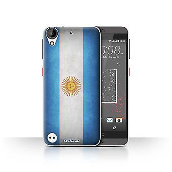 STUFF4 Case/Cover for HTC Desire 630/Argentina/Argentinean/Flags