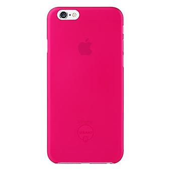 Ozaki OC555PK O! Coat jelly cover sleeve, iPhone 6 6S, pink