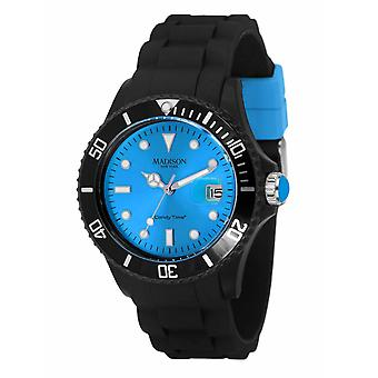 Candy Time by Madison N.Y. Uhr Unisex U4486-06-1 blau