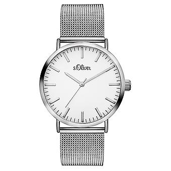 s.Oliver women's watch wristwatch stainless steel SO-3145-MQ