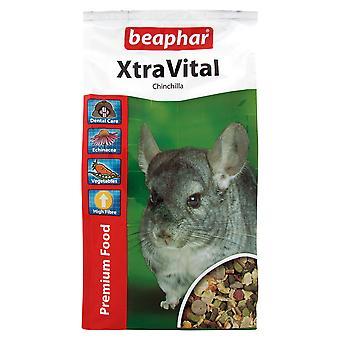 Beaphar Xtravital Chinchilla voedsel 1kg