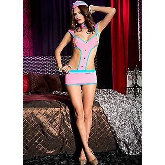 Assistente di volo-hostess Frisky Costume