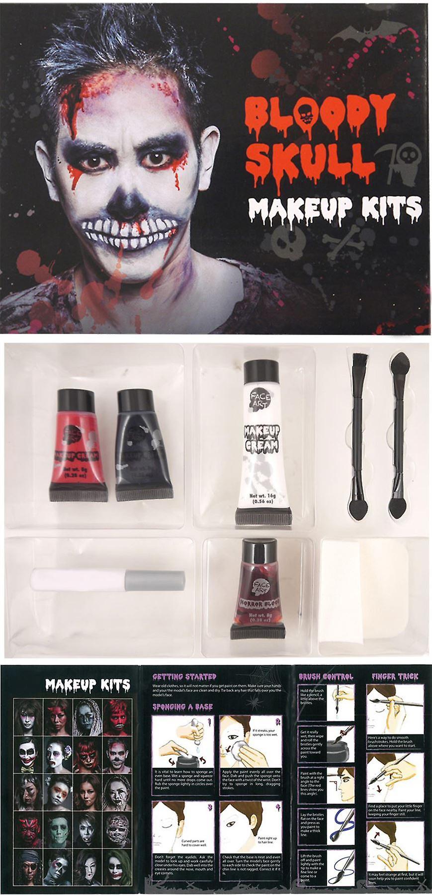 Skull Make Up Kit