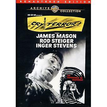 Cry Terror (remastret) [DVD] USA importere