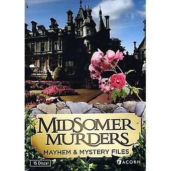 Midsomer Murders: Mayhem & Mystery Files [DVD] USA import