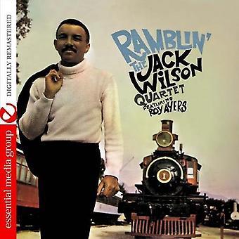 Jack Wilson - Ramblin' [CD] USA import
