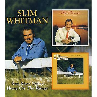 Slim Whitman - Red River Valley/Home auf der Palette [CD] USA import