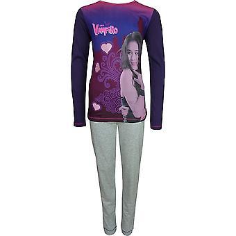 Las niñas Chica Vampiro manga larga pijama conjunto