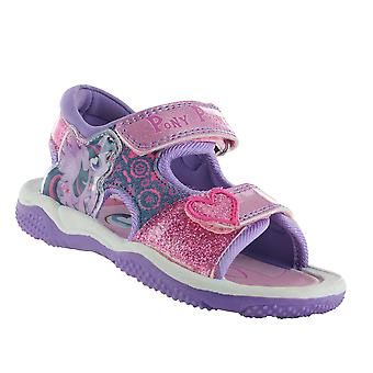 My Little Pony Pink and Purple Sports Sandals