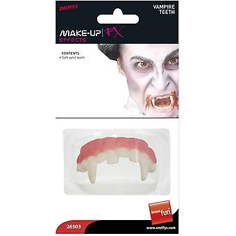 Horror-Vampirzähne Weiß Weichvinyl