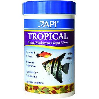 API Tropical Flakes 1000 Ml (162Gr) (Fish , Food , Warm Water)