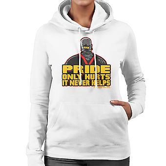 The Kingpin Marsellus Wallace Pulp Fiction Women's Hooded Sweatshirt