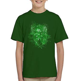 Leyenda de camiseta Zelda escudo legendario infantil