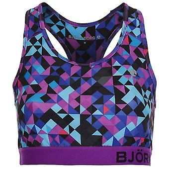Bjorn Borg Wen Sports Bra, Blocks Blue, M
