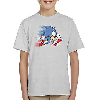 Sonic The Hedgehog Speed Kid's T-Shirt