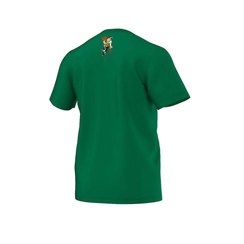 reputable site 1ede4 f32bb ADIDAS Boston Celtics basketball 'The Clinic 9' t-shirt [green]