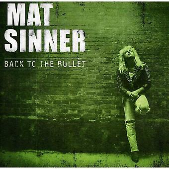 Mat Sinner - Back to the Bullet [CD] USA import