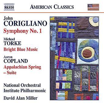 David Alan Miller - Corigliano: Symfoni nr 1 [CD] USA import