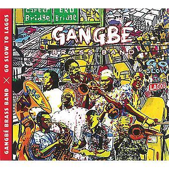 Gangbe brassband - Go Slow til Lagos [CD] USA import