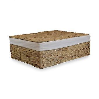 Water Hyacinth Under bed Storage Basket