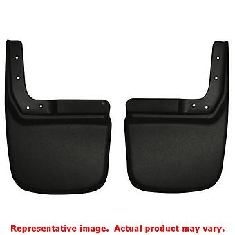 Husky Liners 57141 Black Custom Molded Mud Guards   FITS:JEEP 2007 - 2014 WRANG