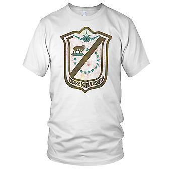 USMC Marines Vma214 Blacksheep Grunge Effect Kids T Shirt