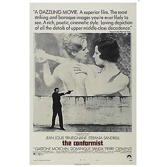 The Conformist Movie Poster (11 x 17)