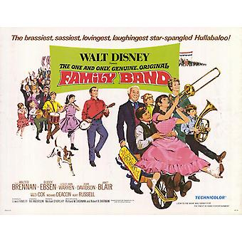 The One and Only Genuine Original Family Band Movie Poster (11 x 14)