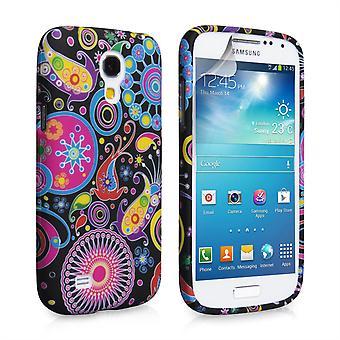 Yousave Zubehör Samsung Galaxy S4 Mini Quallen Silikonhülle Gel