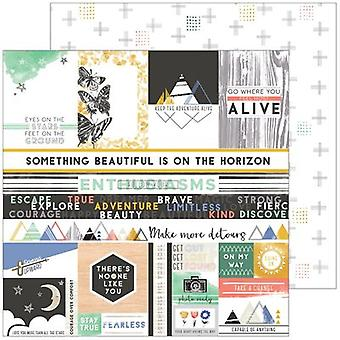 Escape The Ordinary Double-Sided Cardstock 12