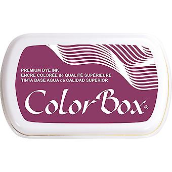ColorBox Premium Dye Ink Pad-Burgundy 159-01
