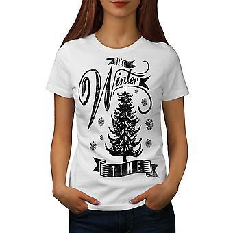 Winter Zeit Weihnachten Frauen WhiteT-Shirt | Wellcoda