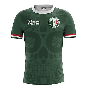 2018-2019 Mexico Huis Concept voetbalshirt