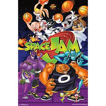 Space Jam - Collage Poster Print