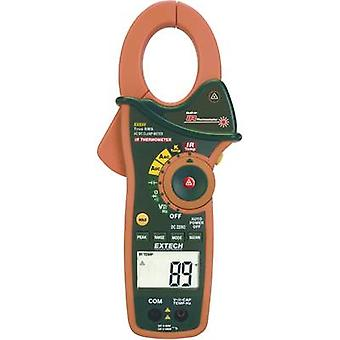 Clamp meter, Handheld multimeter Digital Extech EX830 Calibrated to: Manufacturer's standards (no certificate) IR thermo