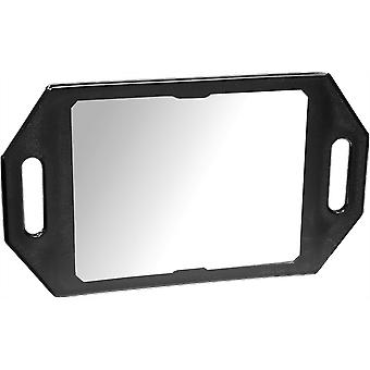 Kodo Two-Handed Back Mirror - Black